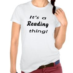 It's a reading thing!