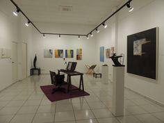 Showroom de arte: varios artitas, distintas disciplinas, formatos y soportes. La propuesta showroom permanente en la planta -1 de la galeria.
