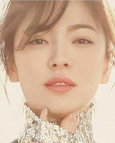 The Queen of beauty ❤❤❤ What Makes You Beautiful, Stunningly Beautiful, Korean Beauty, Asian Beauty, Song Hye Kyo, Korean Actresses, Korean Artist, Cute Korean, Ulzzang Girl