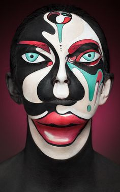 3   Insane Makeup Turns Models Into 2-D Paintings Of Famous Artists   Co.Design   business + design
