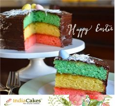 Wishing everyone a very Happy Easter! Order cakes on http://www.indiacakes.com/