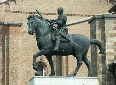 Equestrian Statue of Erasmo da Narni, Donatello, 1443-53