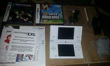 White Nintendo DSi Awesome Super Mario Lot