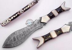 "11.50"" Custom Manufactured Beautiful Damascus Steel dagger Knife (980-2) #KnifeArtist"