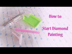 NL • How to: Start Diamond Painting - YouTube