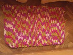 #crochet alfombra dormitorio