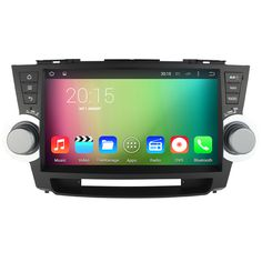 10.1 inch Android 5.1 Car Video player GPS navigation For Toyota Highlander 2011 2012 2013 2014 Car PC head unit radio with map