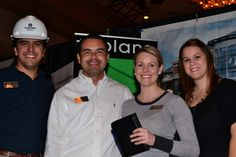 Josh Roby, Jeff Jackson, Taylor Bates and Morgan Chumley at Business After Hours