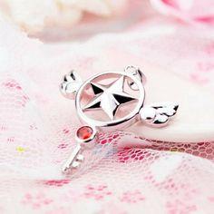 Cardcaptor Sakura Star clés collier pendentifs
