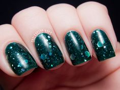 KBShimmer Blogger Collection for Winter 2013 Swatch and Review | Chalkboard Nails | Nail Art Blog