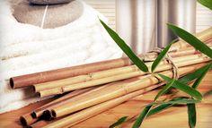 bambusz masszázs