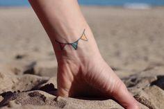 Banderolas Mini Tattoos, Small Tattoos, Hearts, Small Tattoo