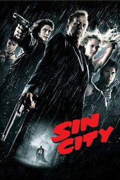 Ranking on IMDb Top Year: 2005 Director: Frank Miller, Robert Rodriguez and Quentin Tarantino (as guest director) Starring: Bruce W. Film Movie, Film D'action, Bon Film, Quentin Tarantino, Mickey Rourke, Frank Miller, Sin City 2005, Movies Showing, Movies And Tv Shows