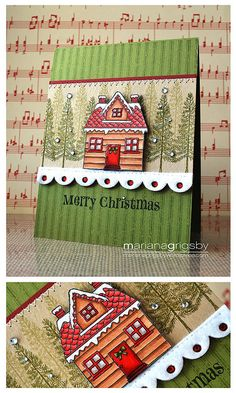 Scraplift with the new Christmas Village set from CTMH... :-)