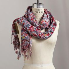 Geode Scarf from Sundance on Catalog Spree, my personal digital mall. Love the colors!