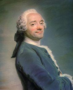 Autoritratto di Maurice Quentin De La Tour, pittore francese del periodo rococò specializzato nei ritratti. 1751, pastello su tela.