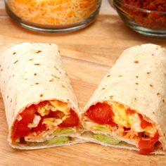 Breakfast Burrito by southbeachdiet: 15 minutes. #Breakfast #Burrito #southbeachdiet