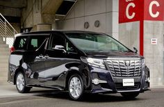 Toyota Alphard - no.3 best selling car - Hong Kong April 2015.