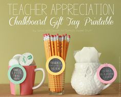 Teacher Appreciation Gift Tag free Printable by www.spoolandspoonblog.com