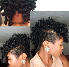 Click the image for Felisha's natural hair photos and regimen
