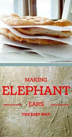 Elephant Ears - the easy way