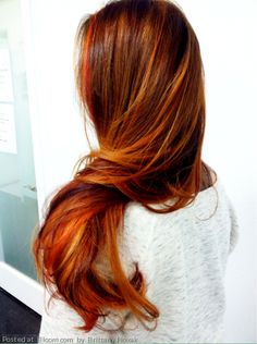 #redhair By Brittany Novak.