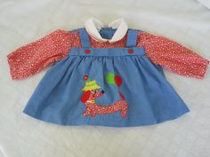 Vintage Childrens Shirt with Dog by vintapod on Etsy, $8.75