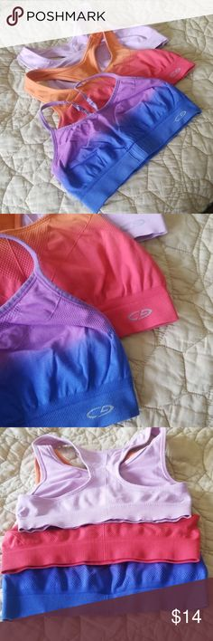 646ed280aea Champion sports bras Bundle of 3 Champion sports bras in size medium. See  images.