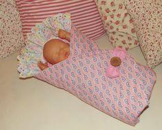 VELESLEVA Pro malou maminku... ♥ zavinovačka pro panenku, VIRGIN for doll, VIRGIN für Puppen, sewn toys
