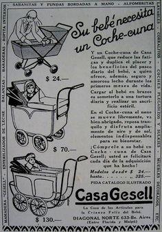 Casa Gesell fue durante décadas el negocio por excelencia de artículos para los recién nacidos.
