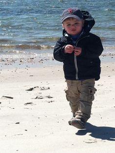 Walking at Craigville Beach !