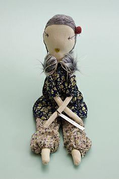 jess brown doll w/ pants