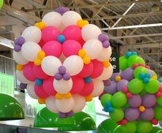 Décoration événementielle en ballons