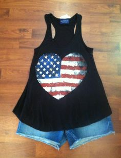 Fourth of July Shirts for Women   Doesn't this top just scream 4th of July!? It is spirited and girly ...