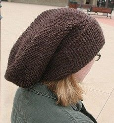 Free knitting pattern for Montgomery Scott's hat Free Knitting, Knitting Patterns, Garter Stitch, Knitting Projects, Knitted Hats, Knit Crochet, Winter Hats, Manualidades, Knit Patterns