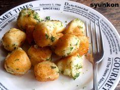 山本ゆりさん 含み笑いのカフェごはん『syunkon』じゃがいものチーズボール