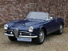 1965 Alfa Romeo Giulia Spider Maintenance/restoration of old/vintage vehicles: the material for new cogs/casters/gears/pads could be cast polyamide which I (Cast polyamide) can produce. My contact: tatjana.alic@windowslive.com