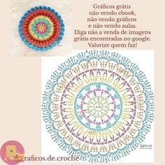 Best 12 mandalas a crochet patrones – SkillOfKing. Crochet Doily Diagram, Crochet Mandala Pattern, Crochet Diy, Crochet Flower Patterns, Crochet Chart, Crochet Home, Crochet Flowers, Crochet Stitches, Crochet Potholders