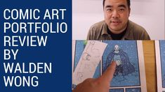 In partnership with Comic Art Talk we did the first portfolio review video, check it out... https://youtu.be/aTPJgKzhemw