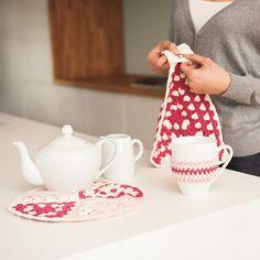Not Your Granny's Kitchen Set eBook - Free Crochet Pattern