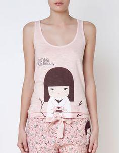 Kimmidoll pink top - T-shirts - Oysho & Friends - China