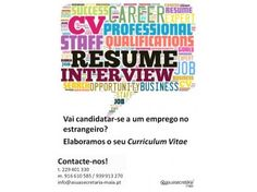Serviços - Elaborar Curriculum Vitae