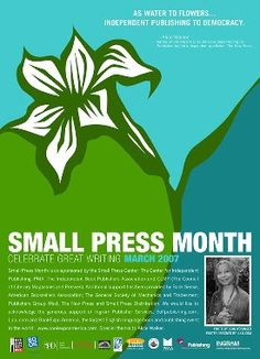 Think Small: March is Small Press Month