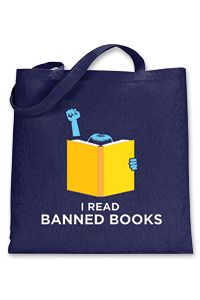 a259655ce1 I Read Banned Books Tote - Clothing