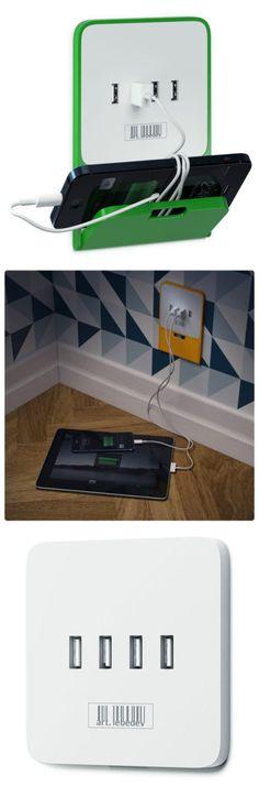 Cool Stuff We Like Here @ CoolPile.com ------- << Original Comment >> ------- Useful USB socket design