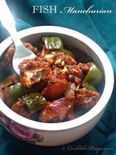 Chilli Fish Manchurian Semi-Dry | Seafood Starter Recipe | Indo-Chinese Manchurian | Step by Step