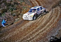 Rally New Zealand 1985 Timo Salonen.