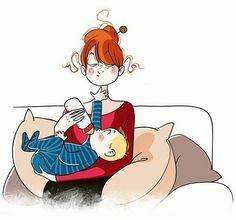 nathalie jomard Children's Book Illustration, Character Illustration, Illustrations, Character Concept, Character Design, The Joys Of Motherhood, Dora, Baby Center, Mother And Child