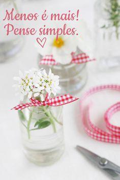 Menos é mais! Decore sua festa em um minuto! | http://www.blogdocasamento.com.br/decore-sua-festa-em-um-minuto/