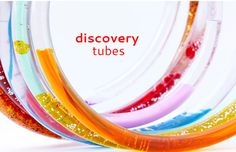 Science Project Idea: Make Discovery Tubes and explore three different scientific concepts in one colorful DIY toy! Preschool Science, Science Resources, Teaching Science, Science For Kids, Science Projects, Science Experiments, Summer Science, Science Chemistry, Science Fun